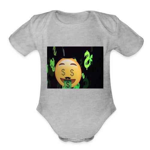 Mrawesome - Organic Short Sleeve Baby Bodysuit