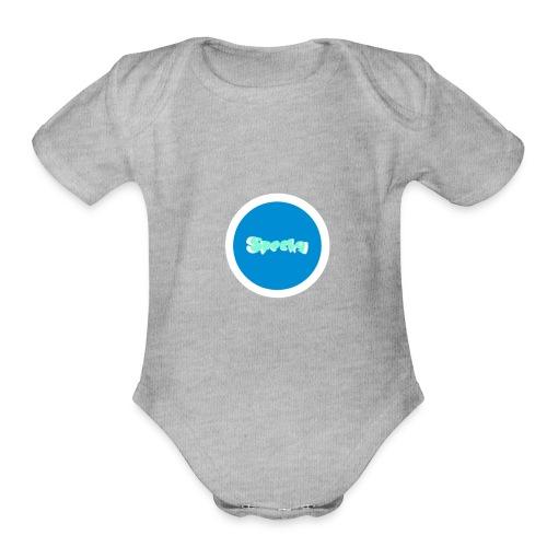 SPECKY MERCH - Organic Short Sleeve Baby Bodysuit
