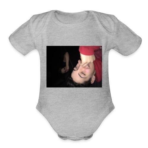 IMG 3119 - Organic Short Sleeve Baby Bodysuit