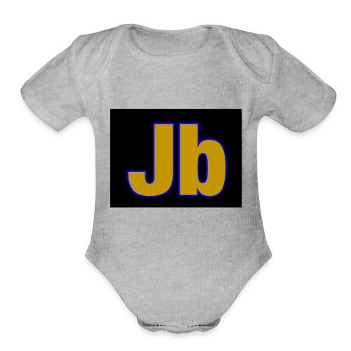 jbjakeshirt - Organic Short Sleeve Baby Bodysuit