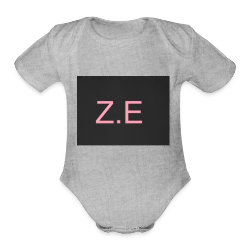 Zac Evans merch - Organic Short Sleeve Baby Bodysuit