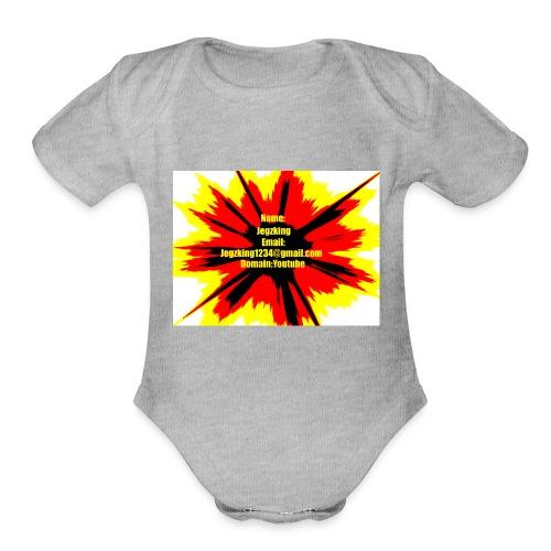 Jegzsavage - Organic Short Sleeve Baby Bodysuit