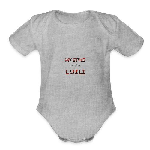 Luili - Organic Short Sleeve Baby Bodysuit