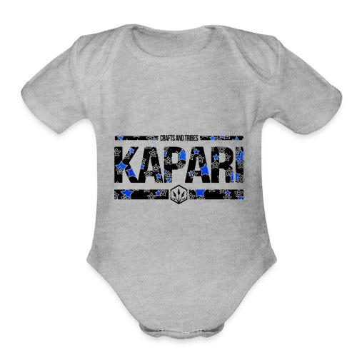 Crafts and Tribes - Kapari - Organic Short Sleeve Baby Bodysuit