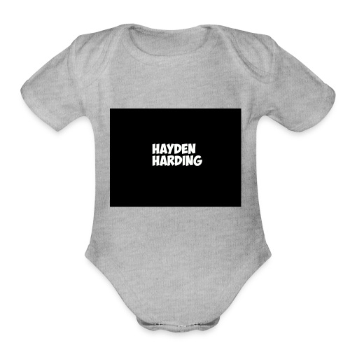 HELLLLLLO - Organic Short Sleeve Baby Bodysuit