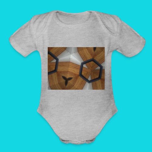 Kaleidoscope - Organic Short Sleeve Baby Bodysuit