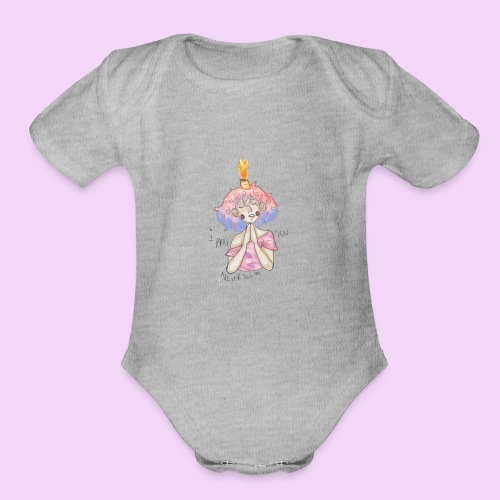 Poppi Exclusive - Organic Short Sleeve Baby Bodysuit