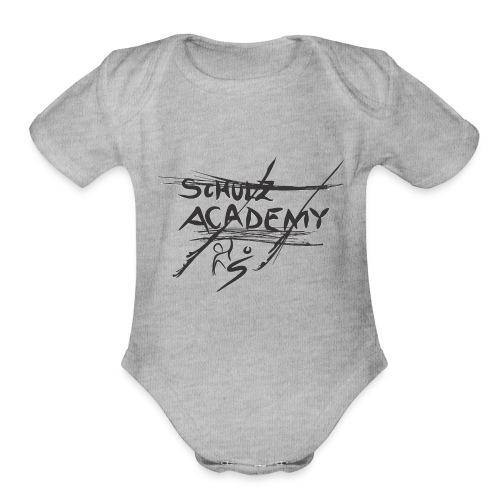 # Schulz Academy - Organic Short Sleeve Baby Bodysuit