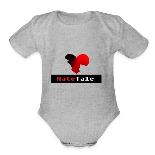 HateTale - Organic Short Sleeve Baby Bodysuit
