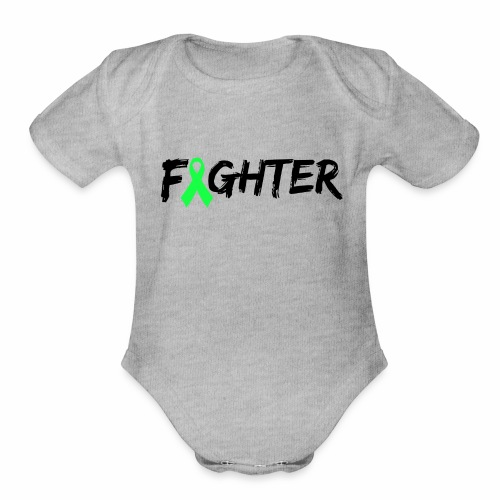 Lyme Fighter - Organic Short Sleeve Baby Bodysuit
