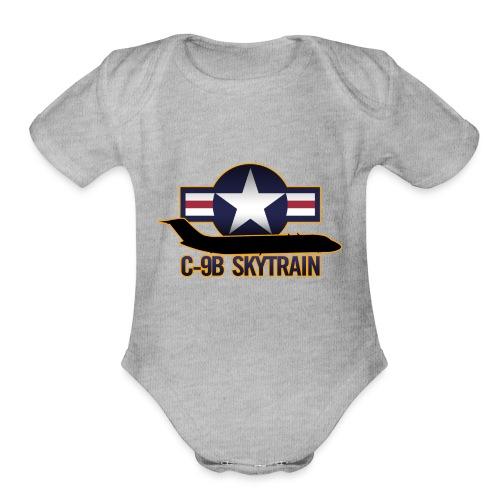 C-9B Skytrain - Organic Short Sleeve Baby Bodysuit