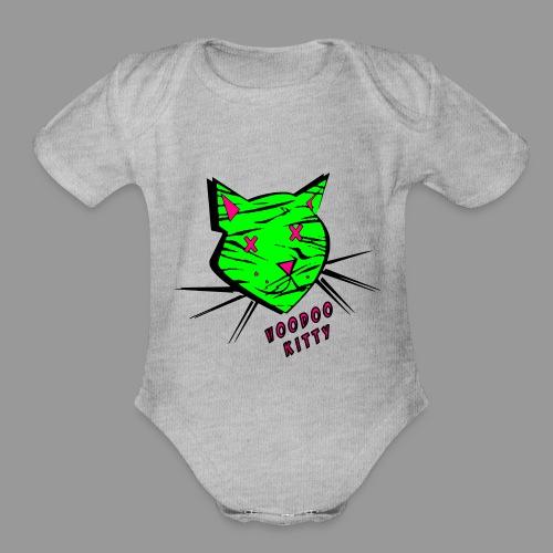 Voodoo Kitty - Organic Short Sleeve Baby Bodysuit
