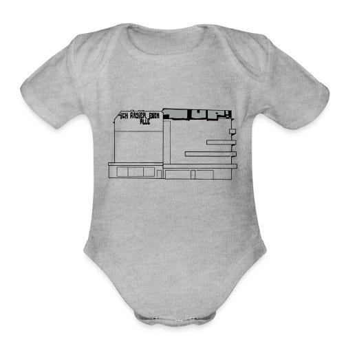 Graffiti at Hermannplatz - Organic Short Sleeve Baby Bodysuit