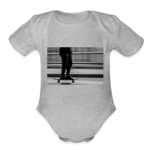 MAC_1337 - Organic Short Sleeve Baby Bodysuit
