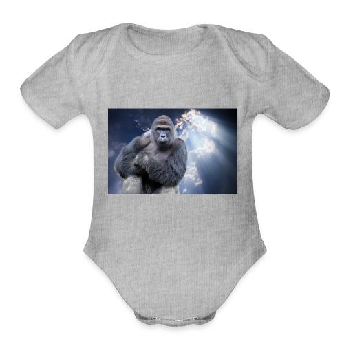 Harambe - Organic Short Sleeve Baby Bodysuit