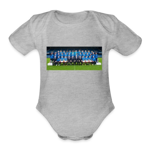 RangersFC - Organic Short Sleeve Baby Bodysuit