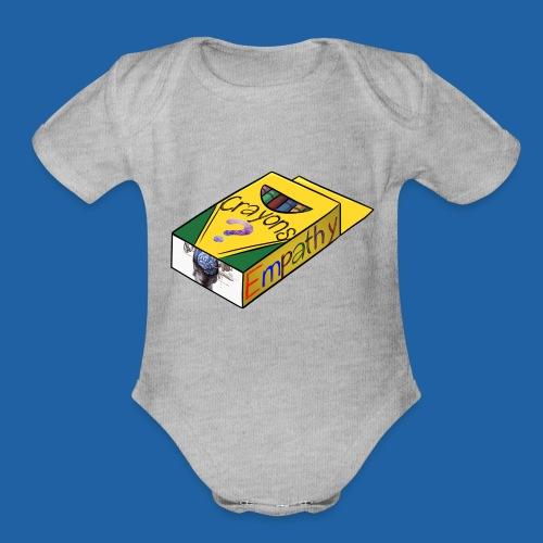 Colors of Empathy - Organic Short Sleeve Baby Bodysuit
