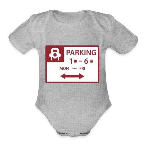 Free Parking - Organic Short Sleeve Baby Bodysuit