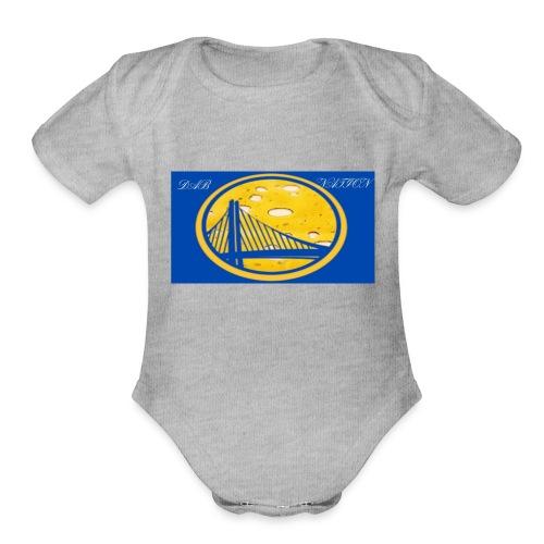 Trill Paisa original - Organic Short Sleeve Baby Bodysuit