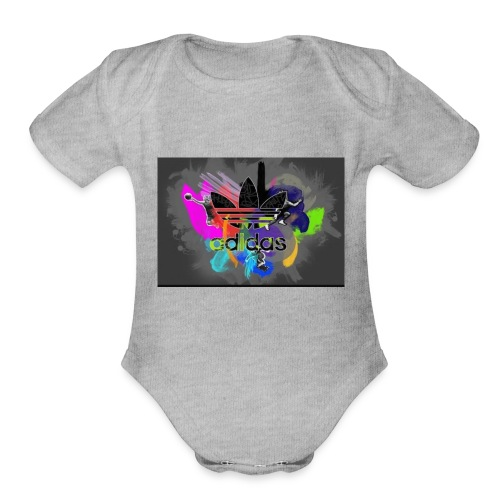 SyndicateProducts_Adidas - Organic Short Sleeve Baby Bodysuit