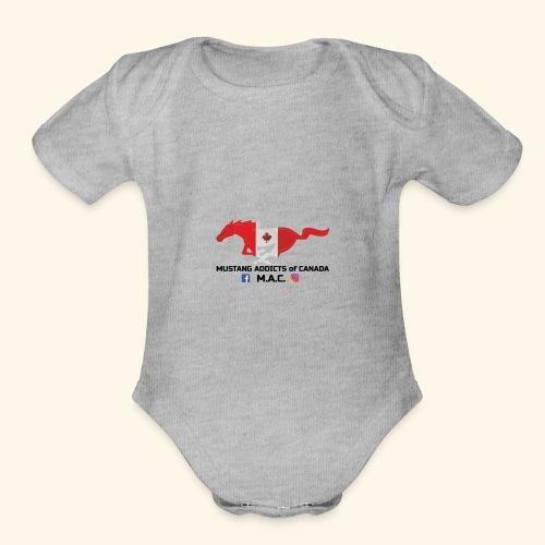 origonal - Organic Short Sleeve Baby Bodysuit