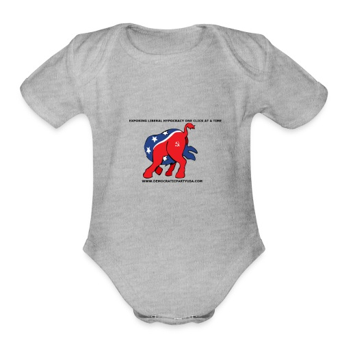 HYPOCRACY - Organic Short Sleeve Baby Bodysuit