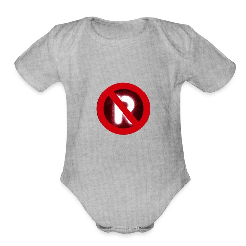 Anti R - Organic Short Sleeve Baby Bodysuit