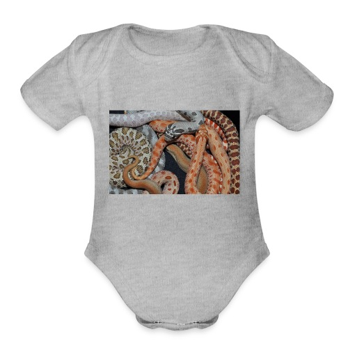 Hognose Morphs Phone Cover - Organic Short Sleeve Baby Bodysuit