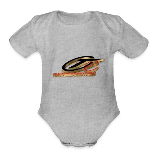 TOE LOGO - Organic Short Sleeve Baby Bodysuit