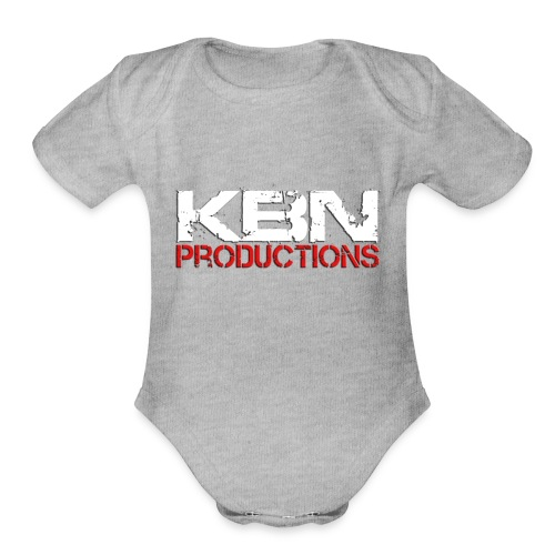 Killedbyname Productions Brand Products - Organic Short Sleeve Baby Bodysuit
