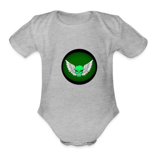 TAKN Divination - Organic Short Sleeve Baby Bodysuit
