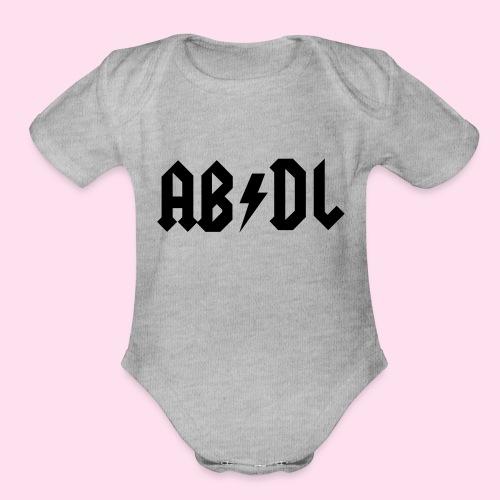 ABDL Rock - Organic Short Sleeve Baby Bodysuit