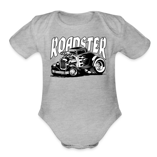 Roadster - Organic Short Sleeve Baby Bodysuit