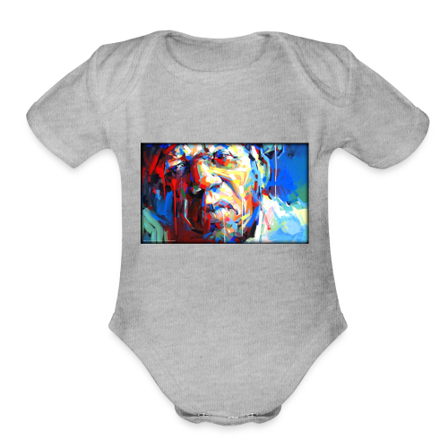 Keith B. Still image from Twitter - Organic Short Sleeve Baby Bodysuit