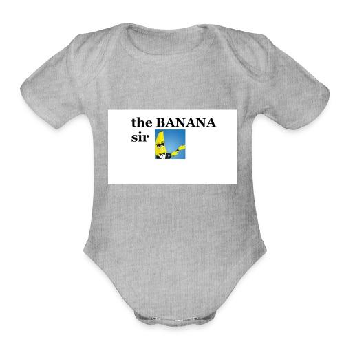 boi - Organic Short Sleeve Baby Bodysuit