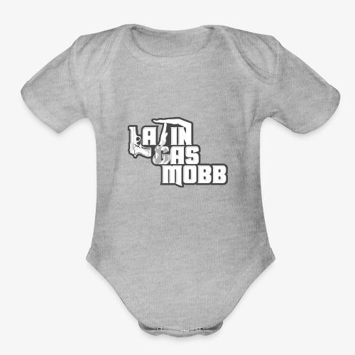 LATIN GAS MOB - Organic Short Sleeve Baby Bodysuit
