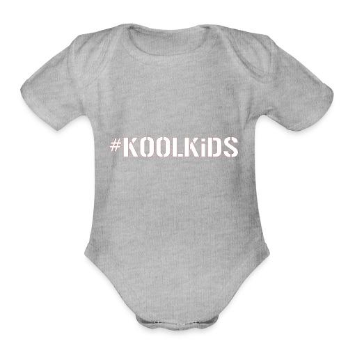#K00LKiDS Decal - Organic Short Sleeve Baby Bodysuit