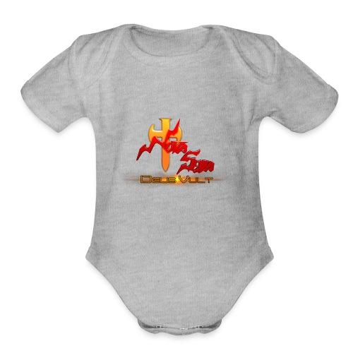 Nova Sera Logo - Organic Short Sleeve Baby Bodysuit