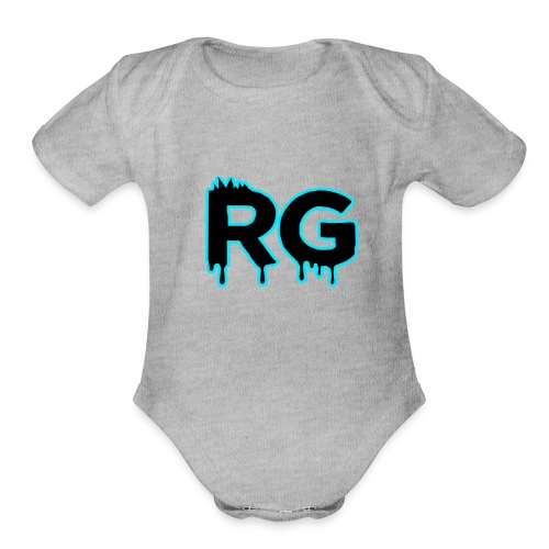 Untitled-1 - Organic Short Sleeve Baby Bodysuit