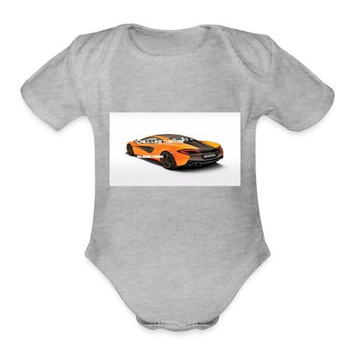 ChillBrosGaming Chill Like This Car - Organic Short Sleeve Baby Bodysuit