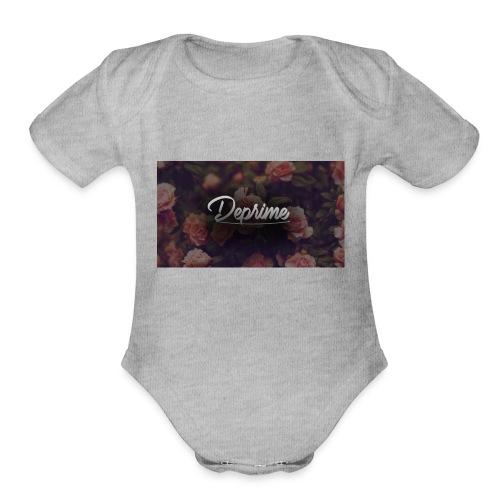 Rosez Deprime T-Shirt - Organic Short Sleeve Baby Bodysuit