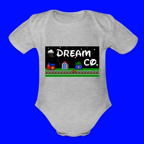 Pixel Art - Organic Short Sleeve Baby Bodysuit