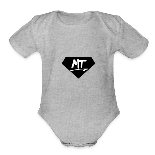 MT - Organic Short Sleeve Baby Bodysuit