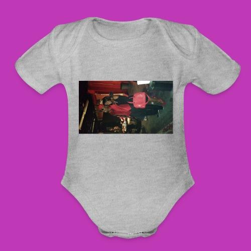 Valentines Day Mug - Organic Short Sleeve Baby Bodysuit