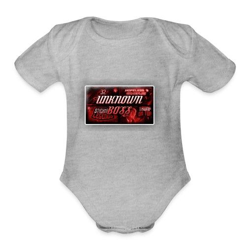 unknownboss - Organic Short Sleeve Baby Bodysuit