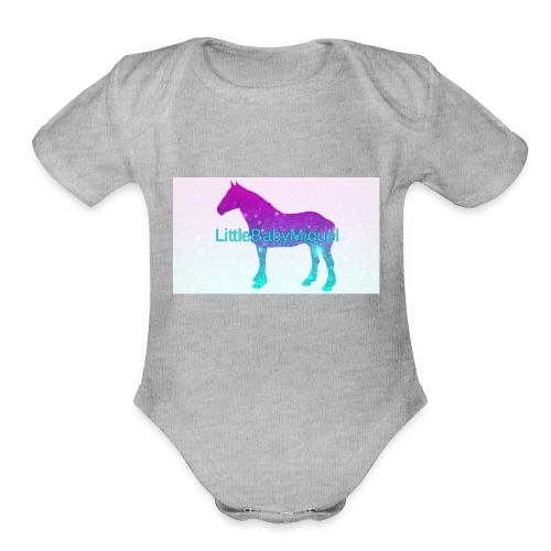 LittleBabyMiguel Products - Organic Short Sleeve Baby Bodysuit