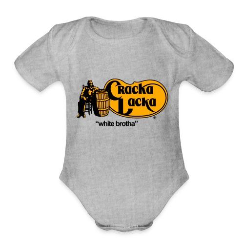 Crack Lacka - Organic Short Sleeve Baby Bodysuit