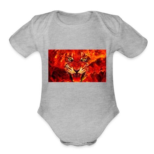 7fbe1c49be0657de183e7ae16a7cfa81 - Organic Short Sleeve Baby Bodysuit