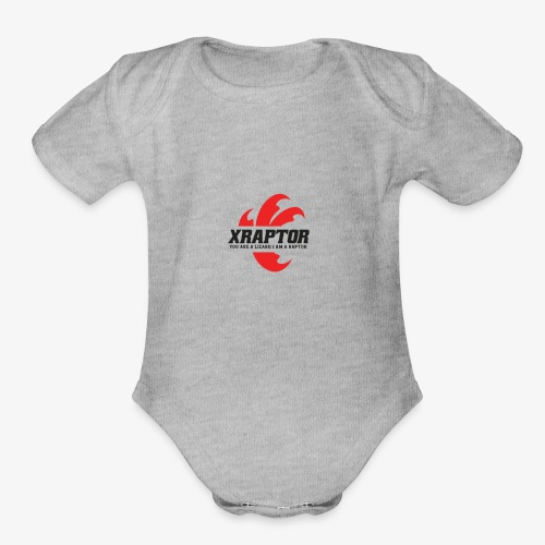 Finla Logo BlackTransparent - Organic Short Sleeve Baby Bodysuit