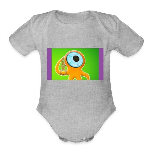 IKN! - Organic Short Sleeve Baby Bodysuit